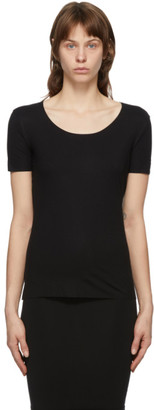 Wolford Black Aurora Pure T-Shirt