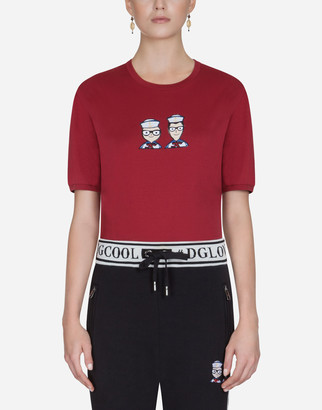 Dolce & Gabbana #dgfamily Cotton T-Shirt