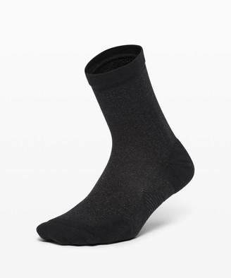 Lululemon Speed Quarter Sock *Silver