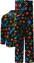 Komar Kids Dc Comics Justice League Traditional Coat Style Pajama for boys