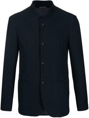 Giorgio Armani Button-Down Shirt Jacket