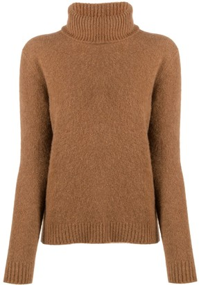 Liska Cashmere Roll Neck Jumper