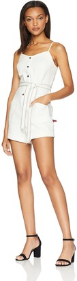 Splendid Women's Belted Romper