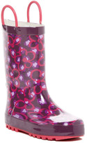 Western Chief Diva Leopard Print Rain Boot (Toddler & Little Kid)