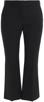 Alexander McQueen Wool-blend Crepe Kick-flare Pants