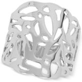 Touch of Silver Filigree Statement Ring in Silver-Plate