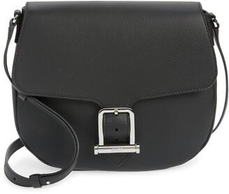 HUGO BOSS Kristin Leather Saddle Bag
