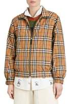 Burberry Corfe Classic Check Tracksuit Jacket