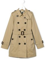 Burberry 'Sandringham' trench coat - kids - Cotton/Viscose - 8 yrs
