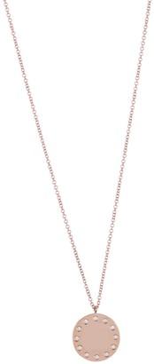 Ron Hami 14K Rose Gold Diamond Disc Pendant Necklace - 0.09 ctw