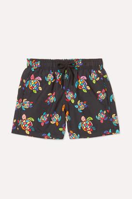 Vilebrequin Kids - Jim Printed Swim Shorts - Black