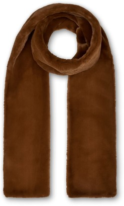 Nooki Design Anna Double Layer Scarf - Toffee