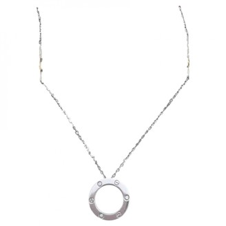 Cartier Love Silver White gold Necklaces