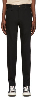 Rag & Bone Black Selvedge Strip Jeans
