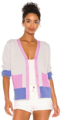 525 Yarn & Color Blocked Cardigan