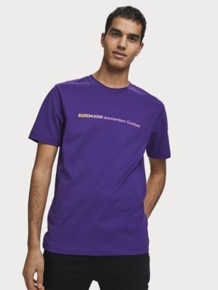 Scotch & Soda Gradient Logo Art T-Shirt | Men