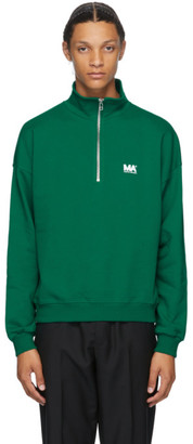 Martin Asbjorn Green Turtleneck Sweatshirt