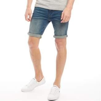 French Connection Mens Denim Shorts Indigo