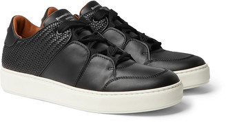 Ermenegildo Zegna Day & Night Panelled Leather Sneakers