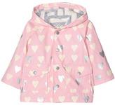 Hatley Metallic Hearts Raincoat (Infant)
