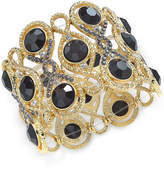 INC International Concepts I.n.c. Stone and Crystal Filigree Stretch Bracelet, Created for Macy's