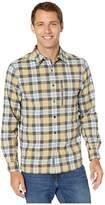 Royal Robbins Thermotech Ren Plaid Long Sleeve (Turbulence) Men's Long Sleeve Button Up