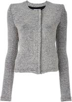 IRO raw edge boucle jacket - women - Cotton/Acrylic/Polyamide/Wool - 40