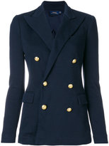 Polo Ralph Lauren double breasted blazer - women - Cotton/Polyester/Viscose - 2