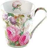 Brompton Creative Tops 1-Piece Fine Bone China V&A Rose Mug in a Gift Box, Pink