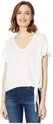 Ariat Crossroads Top (White) Women's Clothing