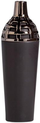 Torre & Tagus Capela 16In Ceramic 2 Tone Pin Vase Medium