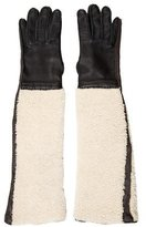 Marni Shearling Elbow-Length Gloves