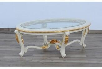 "Astoria Grand Busch Oval Coffee Table Size: 20"" H x 57"" L x 36"" W"