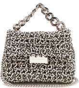 Stella McCartney Becks mini woven clutch