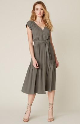 BB Dakota Holding On Belted Midi Dress