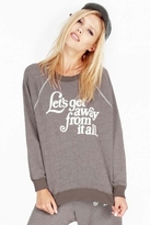 Wildfox Couture Let's Get Away Kim Sweater in Firestone