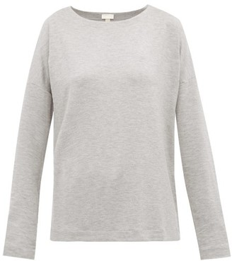 Hanro Balance Jersey Pyjama Top - Womens - Grey