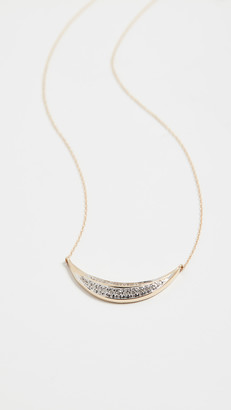 Adina 14k Large Curve Necklace