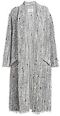 Etoile Isabel Marant Women's Faby Textured Towel Coat