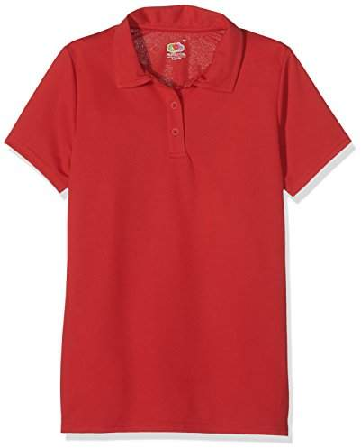 Fruit of the Loom Women's Performance Polo Shirt,(Manufacturer Size:Small)