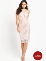 AX Paris Midi Crotchet Dress - Pink