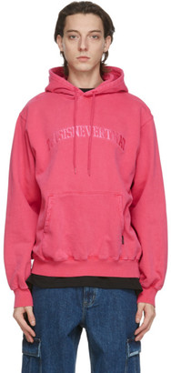 This Is Never That thisisneverthat Pink Arc-Logo Hoodie