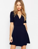 Asos Mini Tea Dress with Wrap Front