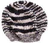 Missoni Wool-Blend Striped Beret w/ Tags