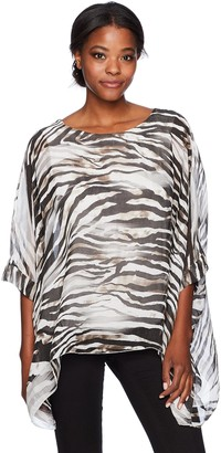 M Made in Italy Women's Missy Bat Sleeves Tunic