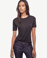 Ann Taylor Petite Refined Tee