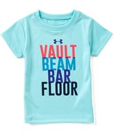 Under Armour Little Girls 2T-6X Gymnastics Short-Sleeve Tee