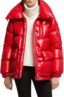 Woolrich Alquippa Channel-Quilt Puffy Jacket