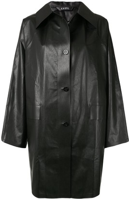 Kassl Editions Oil Original single breasted coat