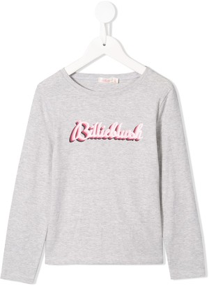 Billieblush printed logo T-shirt